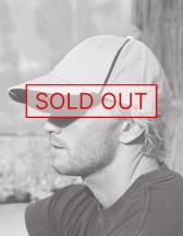 Heavy Brushed Cotton Cap with Scallop Peak and Contrast Trim